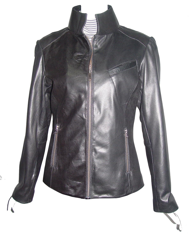 Nettailor WoHerren 4193 Lamm Leder Motorrad Jacke