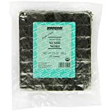 Sound Sea Vegetables Organic Toasted Sushi Nori (Bulk), 50 Sheets, 3.50-Ounce