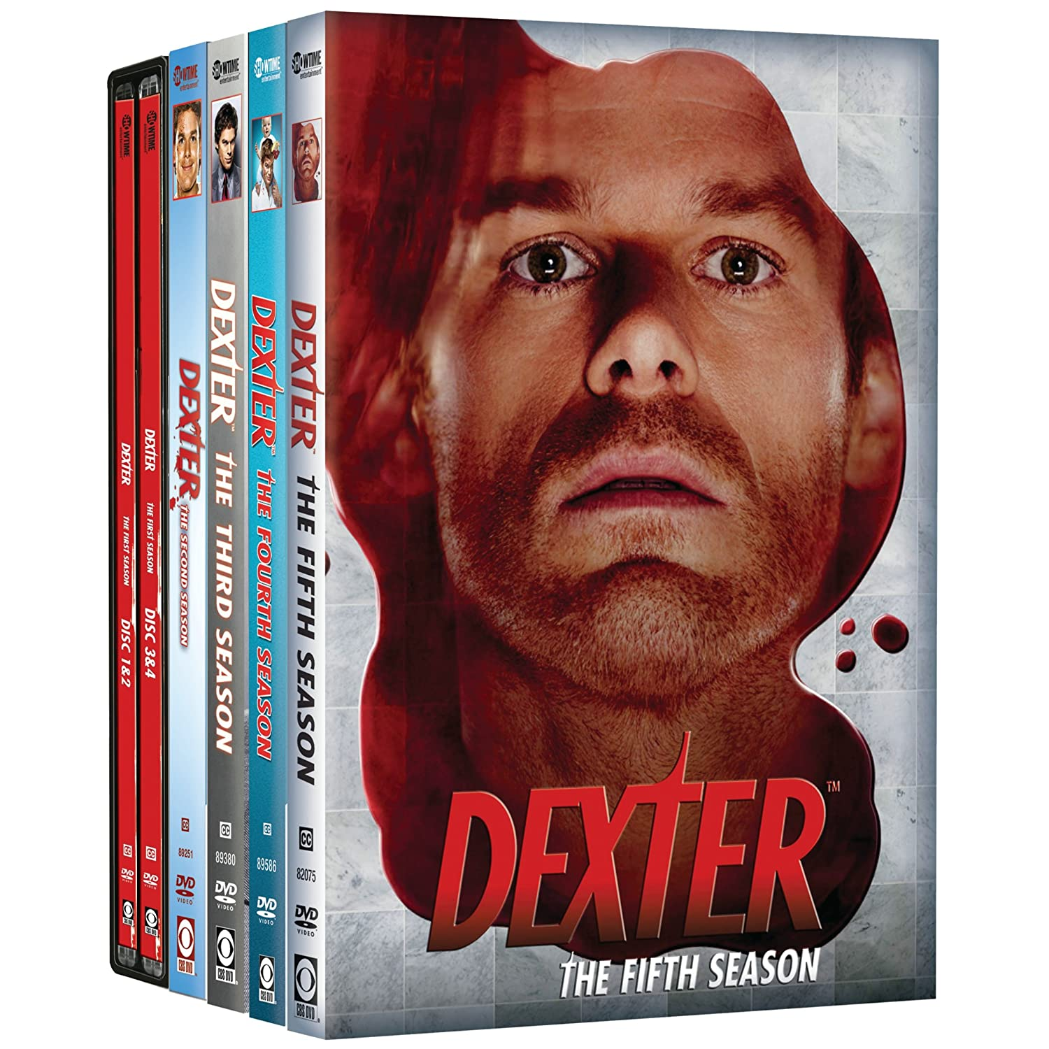 Dexter Seasons 1-5