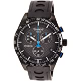 Tissot PRS 516 Quartz Chronograph T1004173720100 (Color: Silver/Black, Tamaño: One Size)