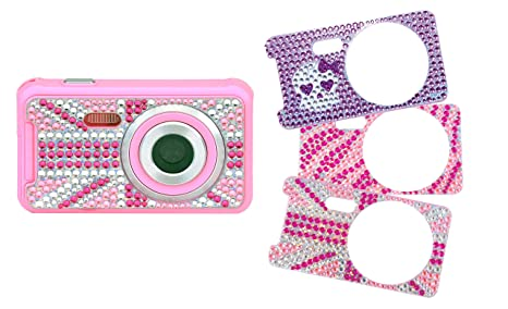 Teknofun 811204 Appareil Photo Numérique 5 MP 3 faces interchangeables STRASS