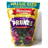 Mariani Pitted Dried Plums Pitted Prunes - Value Size Package - 36 oz