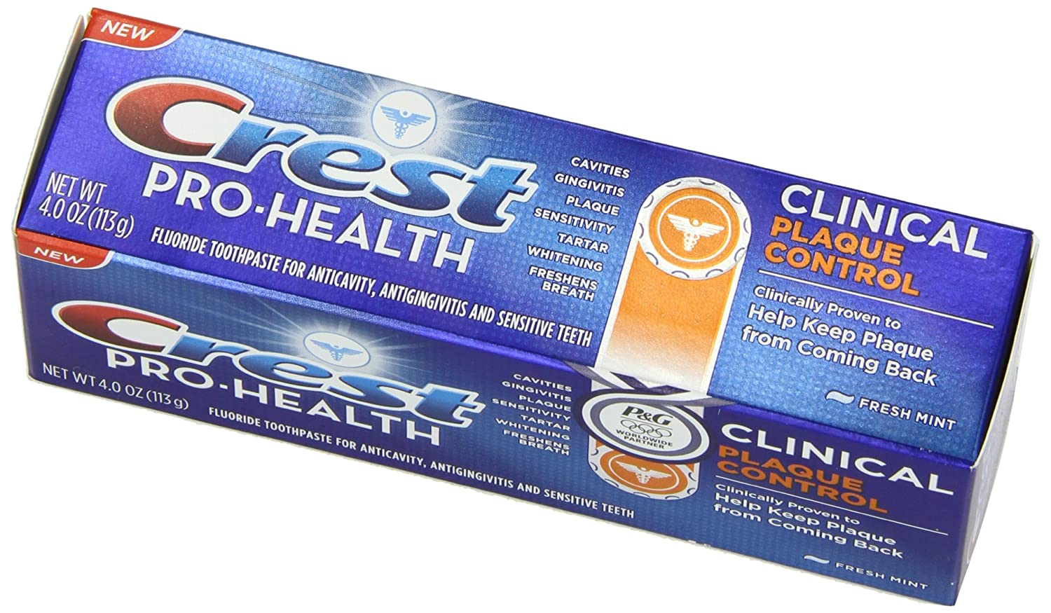 Crest Pro-Health Clinical Plaque Control Fresh Mint Toothpaste, 4 Ounce $2.77