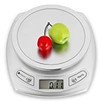 Etekcity 15lb/7kg Digital Kitchen Food Scale, 0.01oz Resolution, Calibration Supported