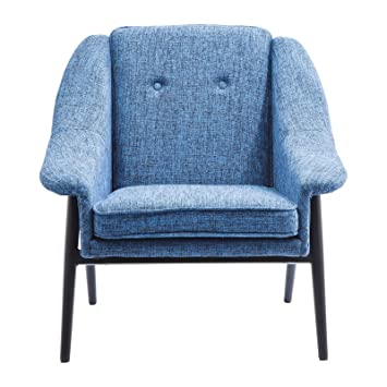 Fauteuil Queens Cosy bleu Kare Design