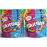 Skittles Flavor Mash-ups Wild Berry and Tropical (Pack of 2 9 Ounce Bags) (Tamaño: 9 Ounces)
