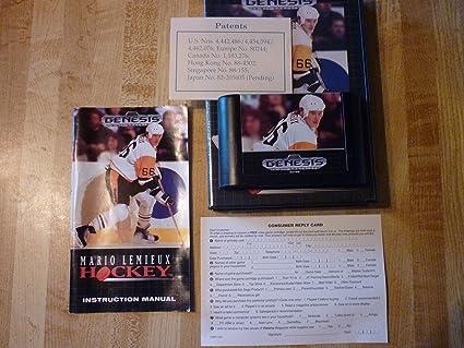 Mario Lemieux Hockey Genesis Mario Lemieux Hockey Sega