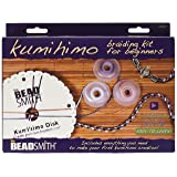Beadsmith KUMIKIT1 Kumihimo Starter Kit (Color: Original Version, Tamaño: See Details)