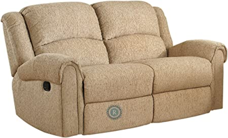 Esther Double Reclining Love Seat Beige