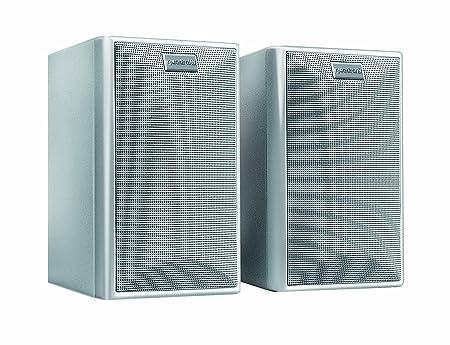 Quadral MAXI 330 W SILB Enceinte pour MP3 & Ipod Argent
