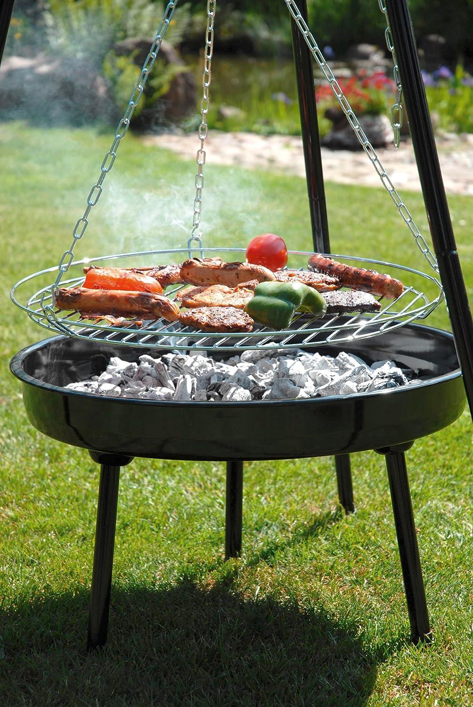 Barbecue suspendu - Grille pour barbecue sur mesure en acier inox ...