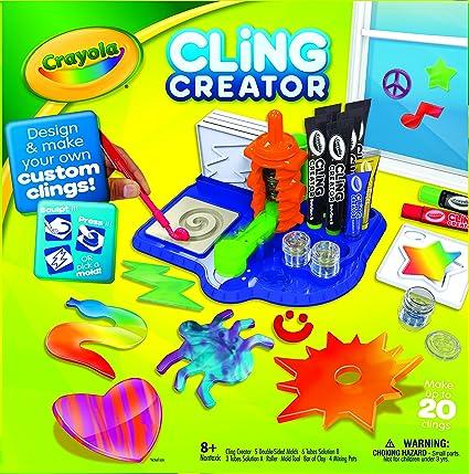 AmazonSmile: Crayola Cling Creator: Toys & Games