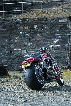Boot Rot Motorrad und Modellbau Zierstreifen in 6 mm Breite und 10 Meter L/änge f/ür Auto