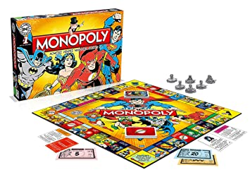 Winning Moves - 0971 - Monopoly Dc Comics - Version Française
