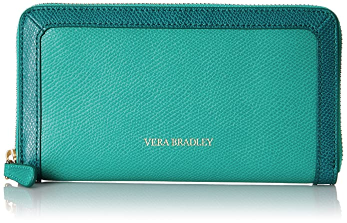 This is on my Wish List: Vera Bradley Georgia Wallet, Teal, One Size: Shoes