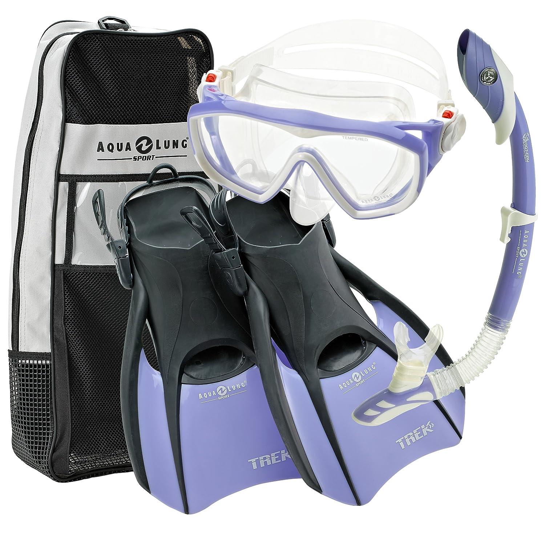 Confirm. All aqua lung snorkel set share