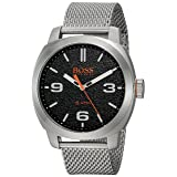 Hugo BOSS Men's 'Cape Town' Quartz Stainless Steel Casual Watch, Color Silver-Toned (Model: 1550013)