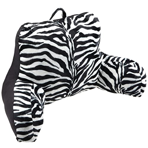 Brentwood Animal Fur Bedrest Zebra