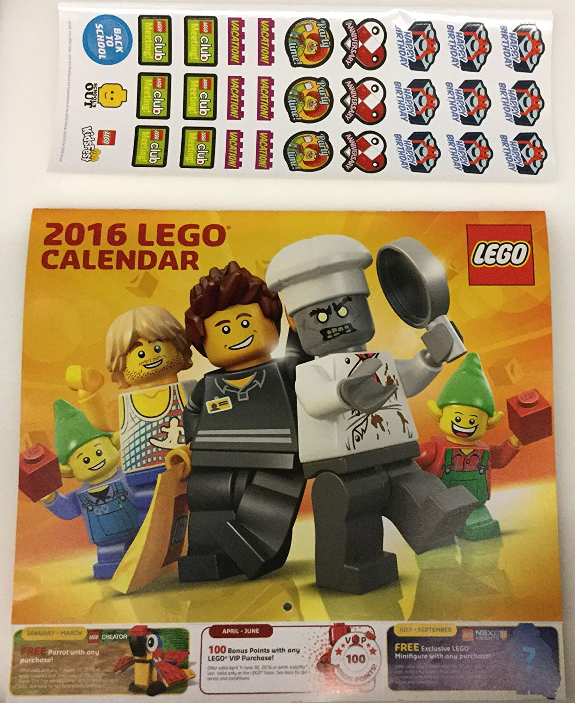 Lego Calendar 2016
