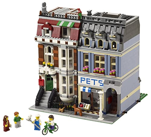 收藏级!乐高 LEGO 城市街景系列10218宠物商店