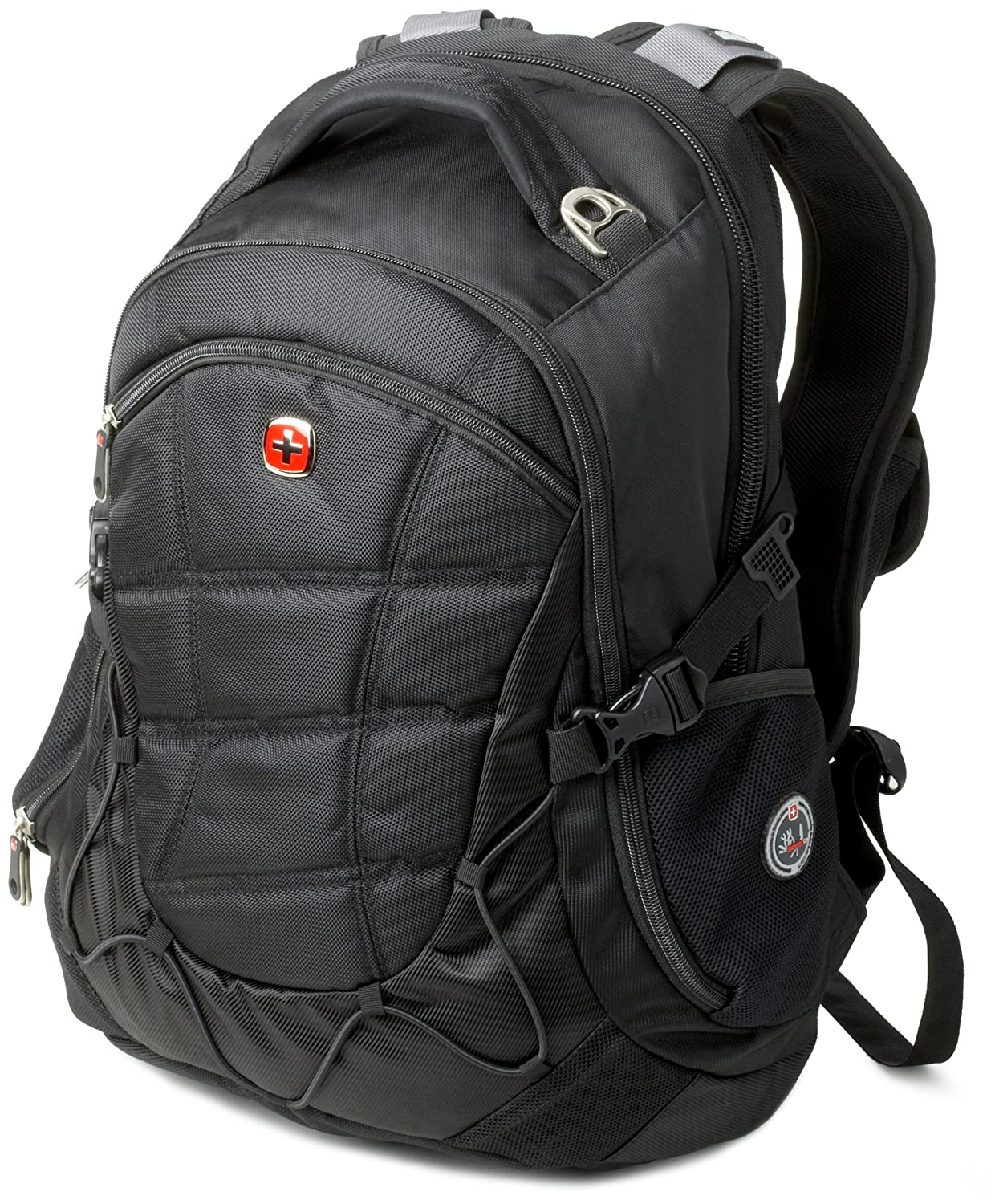 SwissGear Computer Backpack (Black) Fits Most 15.6-Inch Laptops  $63.97