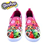 Shopkins Girls Slip-on Canvas Shoes, Size 1