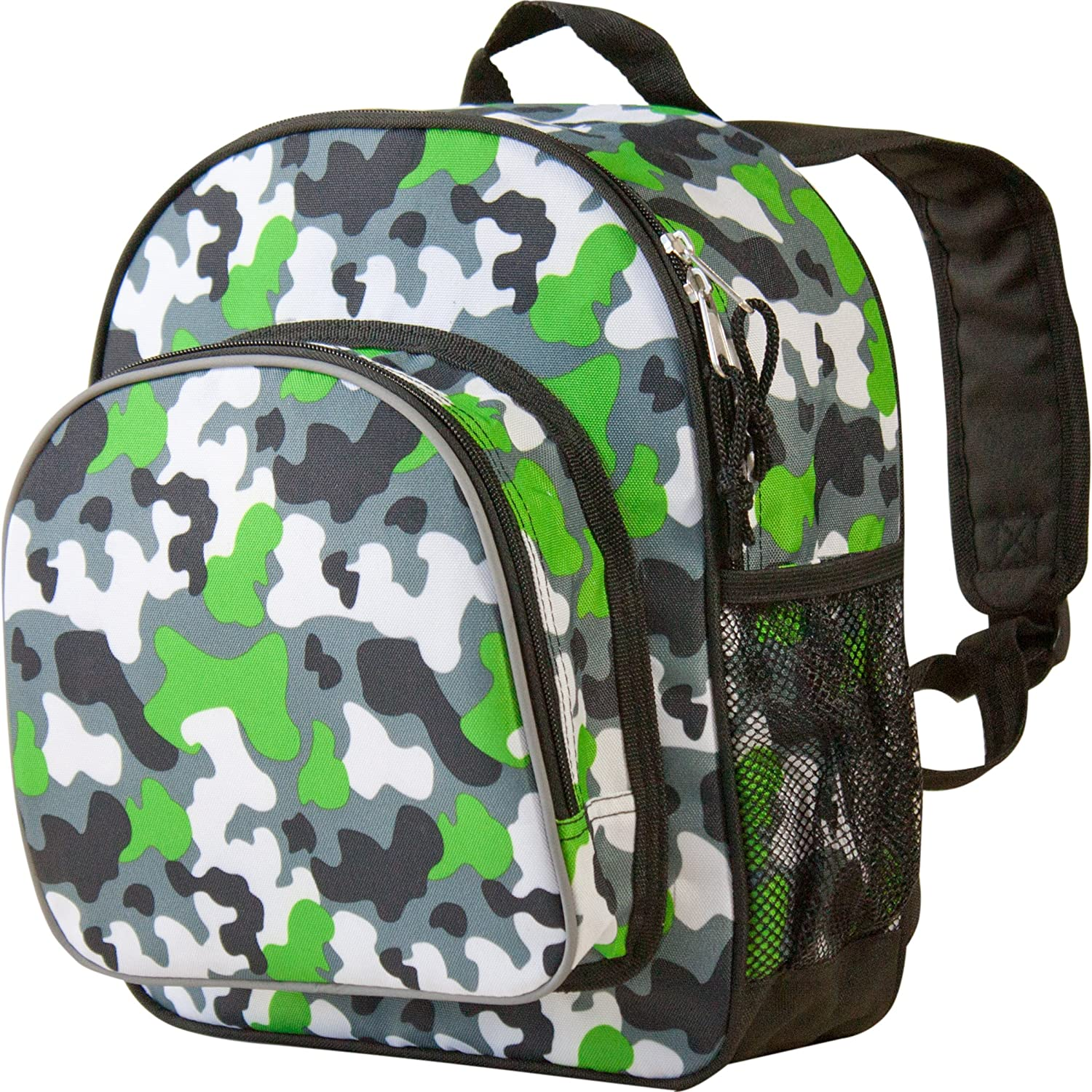 Wildkin Toddler Pack 'n Snack Backpack Camo