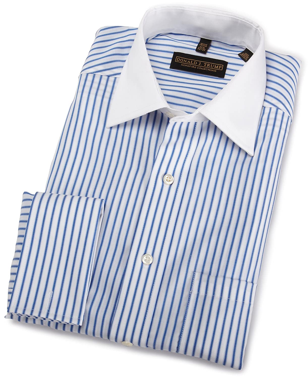 Donald Trump Cotton Twill Striped Shirt