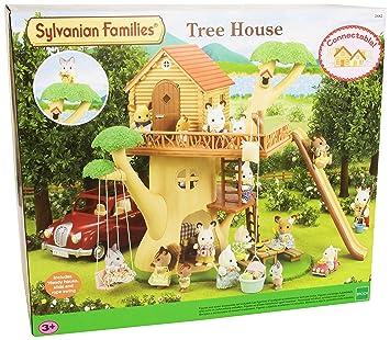 sylvanian families 2882 2882 mini poup e cabane dans les arbres jeux arbres jeux et. Black Bedroom Furniture Sets. Home Design Ideas