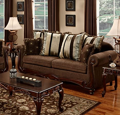 Chelsea Home Furniture Henrietta Sofa, Aiden Camel
