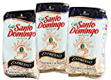 Santo Domingo Espresso - Ground Dominican Coffee 3 Bags / Pounds Pack