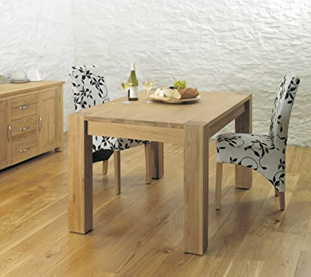 Baumhaus Aston Oak Dining Table 4-6 Seater