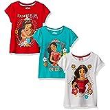 Disney Girls' Little Girls' 3 Pack Elena of Avalor T-Shirts, Multi, 5 (Color: Multi, Tamaño: 5)