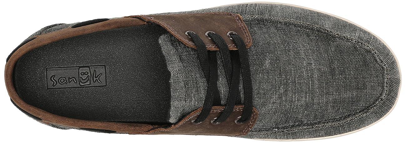Sanuk Men's Casa Barco Vintage Boat Shoe 4