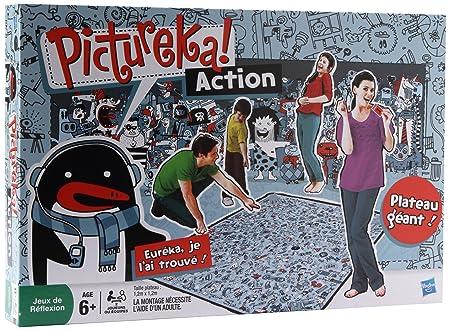 Hasbro - 333841010 - Jeu de Société - Pictureka Action