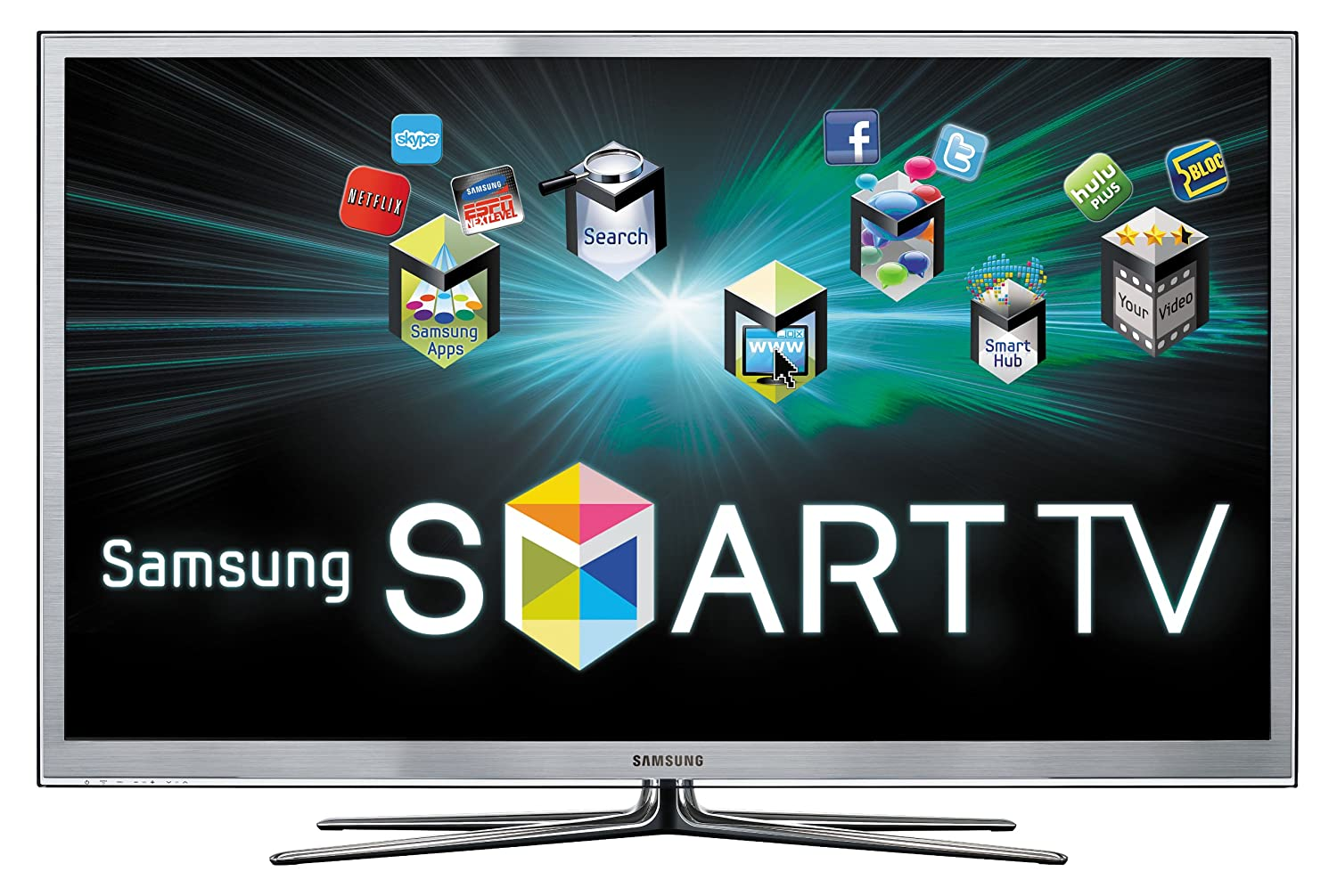 Samsung UN65D8000 65-Inch 1080p 240 Hz 3D LED HDTV (Silver) (2011 Model)