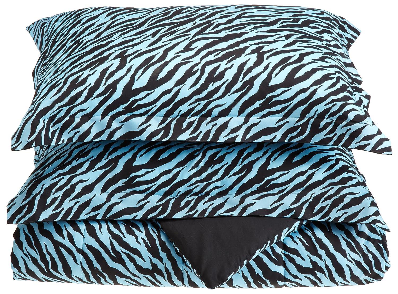 blue zebra bedding sets