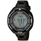 Seiko Men's SBEB001 Prospex Stainless Steel Watch with Black Band
