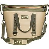 YETI Hopper Two 40 Portable Cooler, Field Tan / Blaze Orange (Color: Hopper Two 40, Field Tan/Blaze Orange, Tamaño: 40)