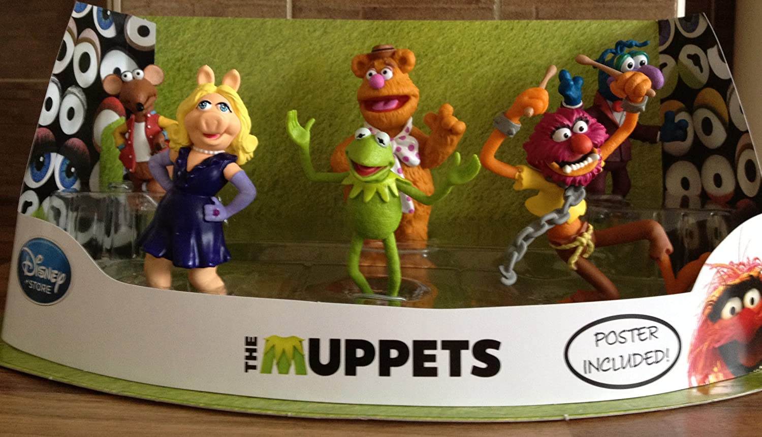 Disney, The Muppets Movie Character Figure Play Set kaufen