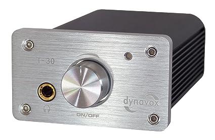 DynaVox T-30 Amplificateur numérique stéréo Argenté