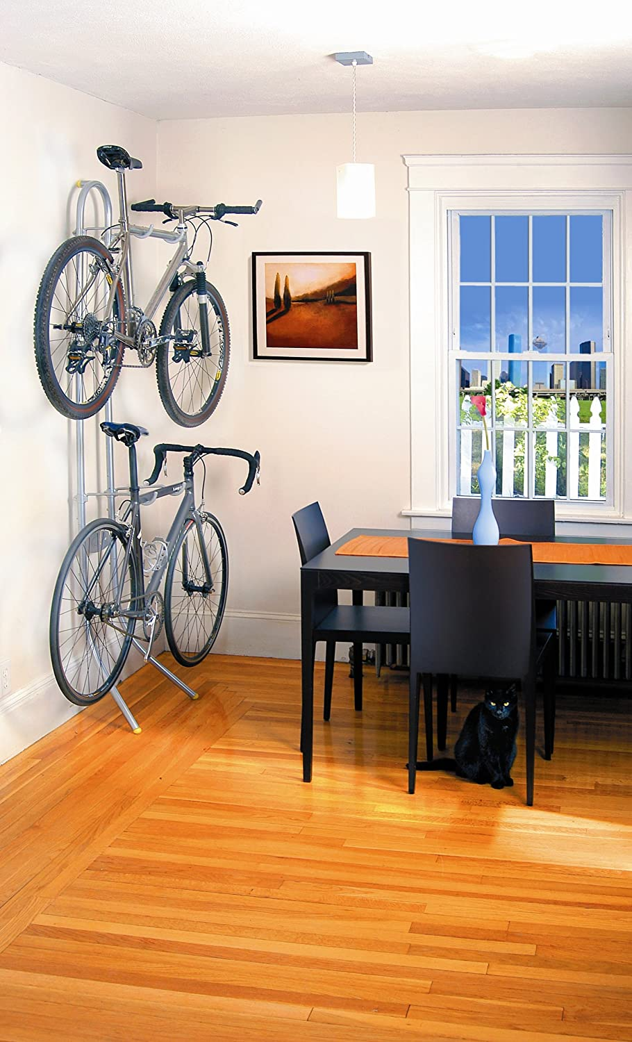 two bike gravity stand bicycle storage rack wall mount home garage two bike gravity stand bicycle storage rack wall mount home garage apartment tms