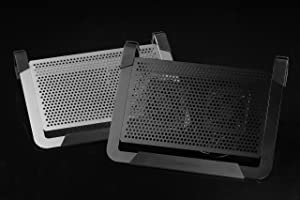 Cooler Master NotePal U2 PLUS - Laptop Cooling Pad with 2 Movable High Performance Fans (Black) (Color: black)