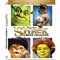 Shrek 4 Movie Collection Anniversary Edition on Blu-ray
