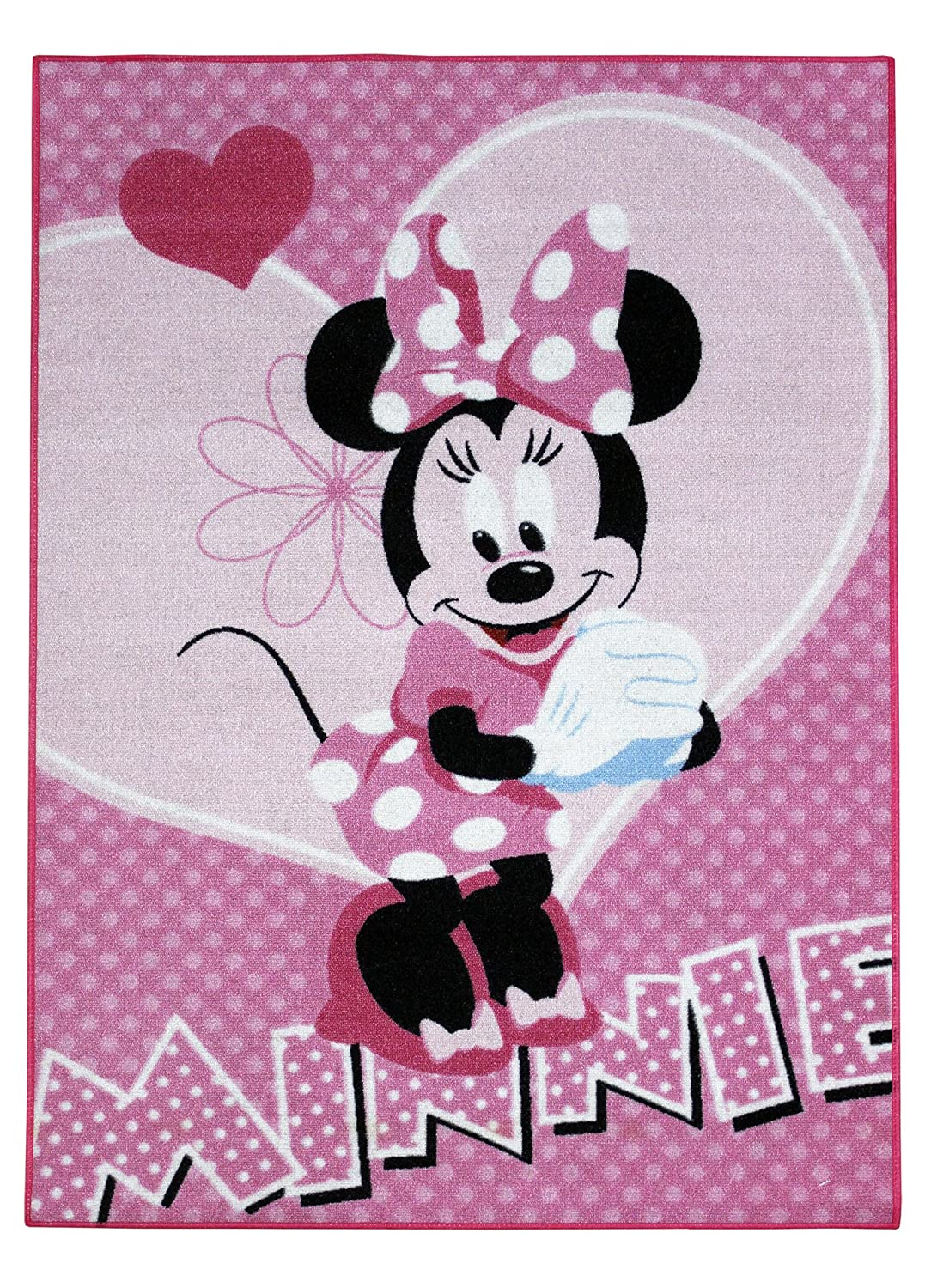 disney minnie mouse maus xxxl teppich abtreter bettvorleger badematte matte neu ebay. Black Bedroom Furniture Sets. Home Design Ideas