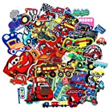 SIX VANKA Traffic Car Truck Patches 48pcs Random Assorted Iron On Embroidered Applique Sew on for Kids DIY Crafts Clothes Jackets Backpacks (Color: Traffic Car Patches Set)