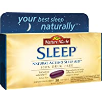 30-Count Nature Made Soft Gel Natural Sleep Aid