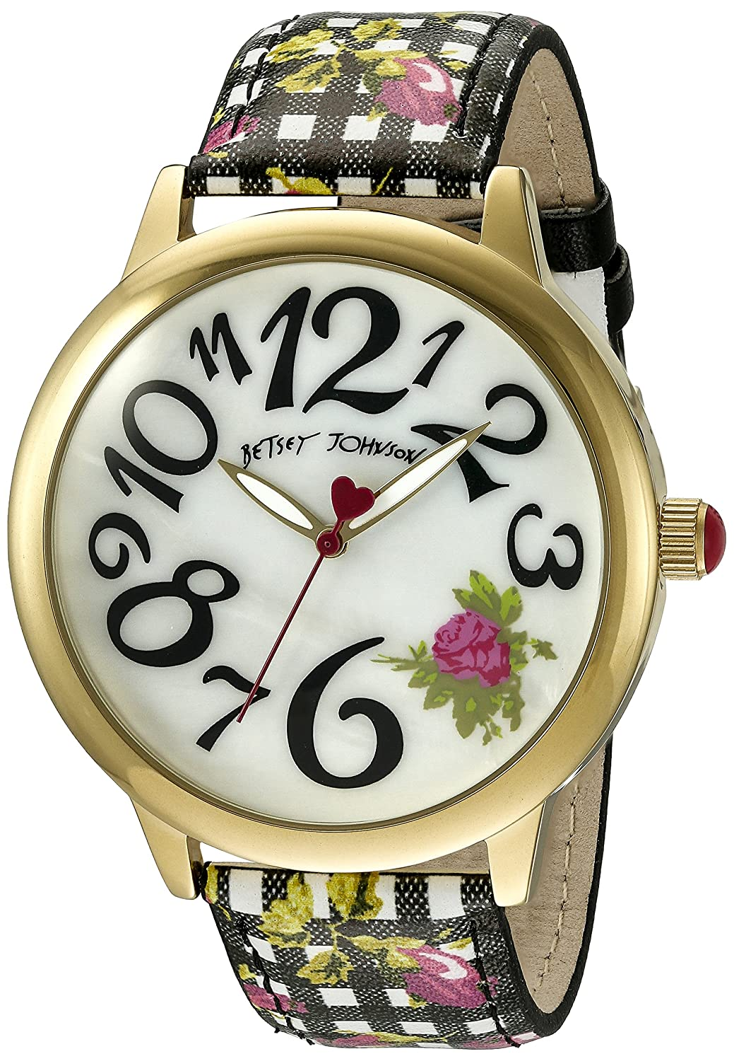 Betsey Johnson Women's BJ00357-22 Analog Display Quartz Multi-Color Watch