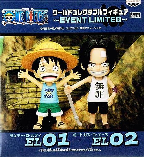 ONEPIECE mondiale pour les collectionneurs figure ~ CAS LIMITED Monkey D Luffy ~ et le port de gaz D Ace Lot de 2 (Japon import / Le paquet et le manuel sont ?crites en japonais)