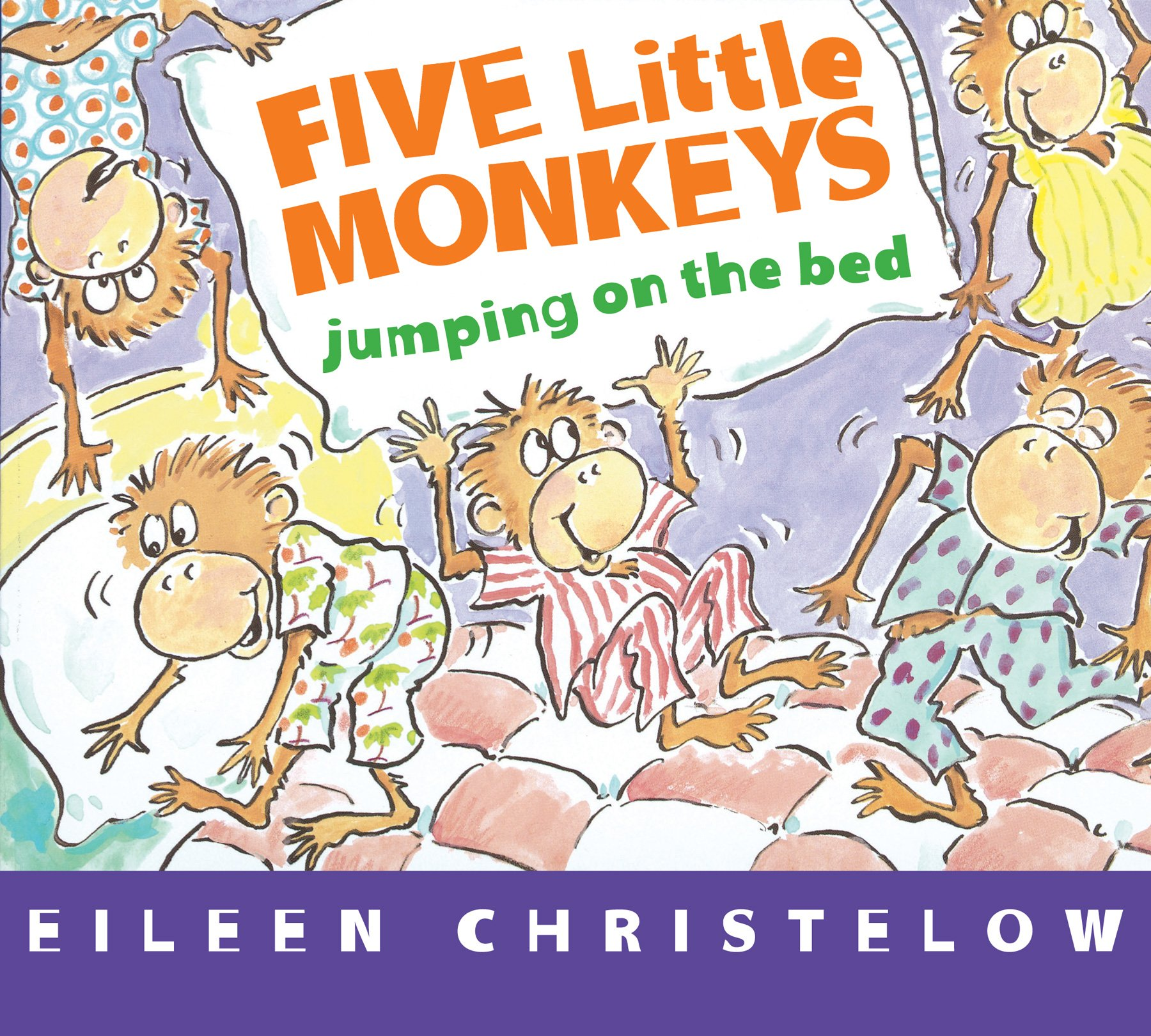 Five Little Monkeys Free Printables and Games